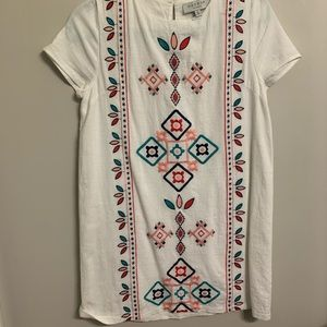 White Dress - Embroidered | Boutique